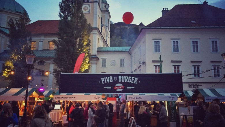 Pivo and Burger Festival in Ljubljana