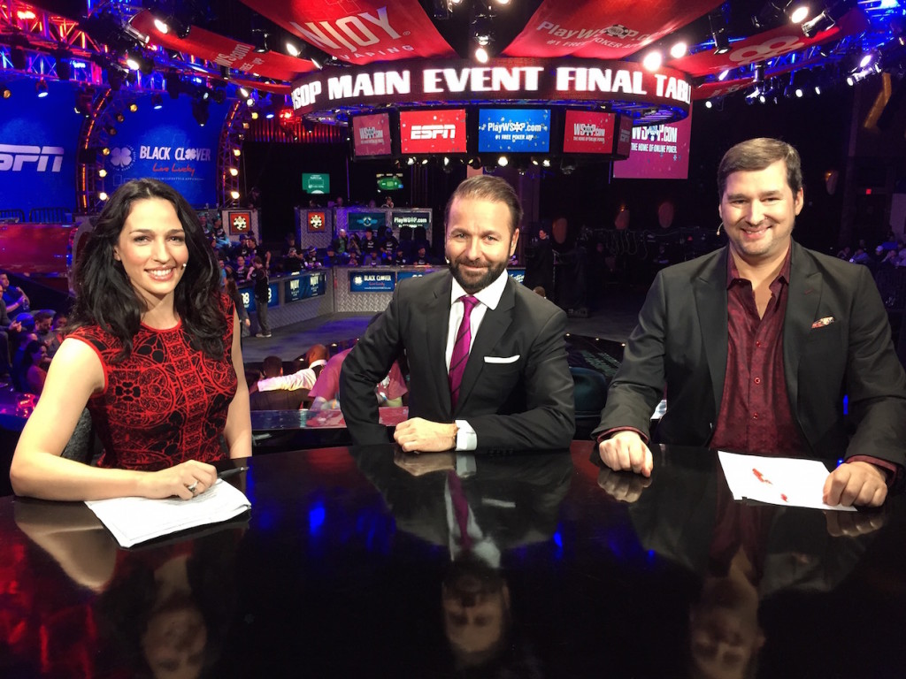 World Series of Poker Main Event Final Table.